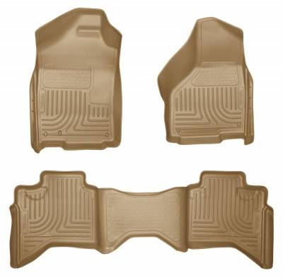INTERIOR ACCESSORIES - FLOOR MATS - Husky Liners - Husky Liners Front and 2nd Seat Floor Liners 98033