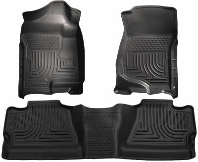 INTERIOR ACCESSORIES - FLOOR MATS - Husky Liners - Husky Liners Front and 2nd Seat Floor Liners 98201