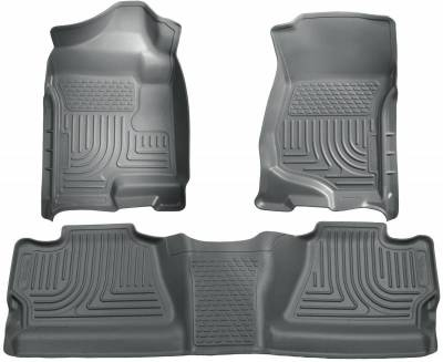INTERIOR ACCESSORIES - FLOOR MATS - Husky Liners - Husky Liners Front and 2nd Seat Floor Liners 98202