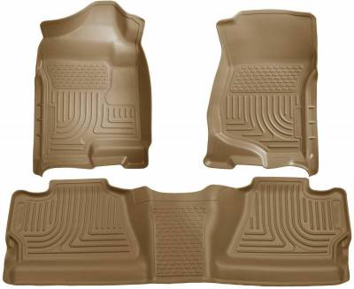 INTERIOR ACCESSORIES - FLOOR MATS - Husky Liners - Husky Liners Front and 2nd Seat Floor Liners 98203