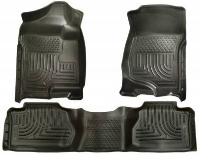 INTERIOR ACCESSORIES - FLOOR MATS - Husky Liners - Husky Liners Front and 2nd Seat Floor Liners 98211