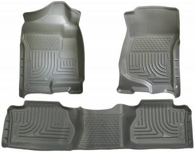 INTERIOR ACCESSORIES - FLOOR MATS - Husky Liners - Husky Liners Front and 2nd Seat Floor Liners 98212
