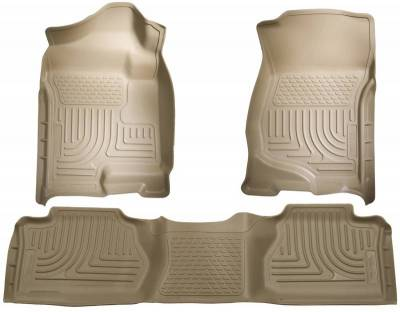 INTERIOR ACCESSORIES - FLOOR MATS - Husky Liners - Husky Liners Front and 2nd Seat Floor Liners 98213
