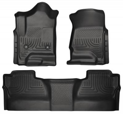 INTERIOR ACCESSORIES - FLOOR MATS - Husky Liners - Husky Liners Front and 2nd Seat Floor Liners 98231