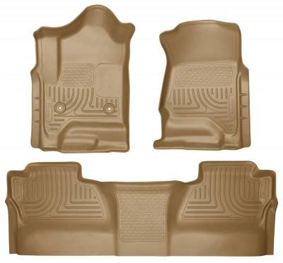 INTERIOR ACCESSORIES - FLOOR MATS - Husky Liners - Husky Liners Front and 2nd Seat Floor Liners 98233