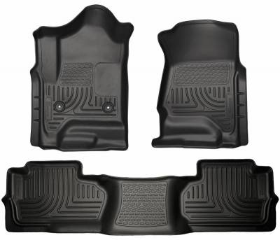 INTERIOR ACCESSORIES - FLOOR MATS - Husky Liners - Husky Liners Front and 2nd Seat Floor Liners 98241