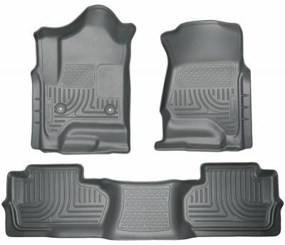 INTERIOR ACCESSORIES - FLOOR MATS - Husky Liners - Husky Liners Front and 2nd Seat Floor Liners 98242