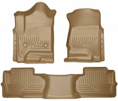 INTERIOR ACCESSORIES - FLOOR MATS - Husky Liners - Husky Liners Front and 2nd Seat Floor Liners 98243
