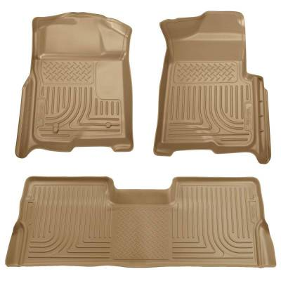 INTERIOR ACCESSORIES - FLOOR MATS - Husky Liners - Husky Liners Front and 2nd Seat Floor Liners 98383