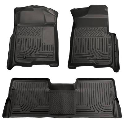 INTERIOR ACCESSORIES - FLOOR MATS - Husky Liners - Husky Liners Front and 2nd Seat Floor Liners 98391