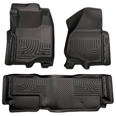 INTERIOR ACCESSORIES - FLOOR MATS - Husky Liners - Husky Liners Front and 2nd Seat Floor Liners 98721