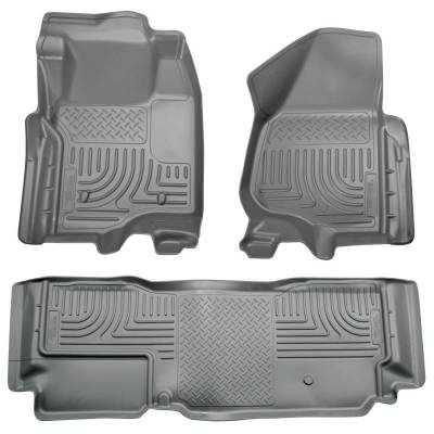 INTERIOR ACCESSORIES - FLOOR MATS - Husky Liners - Husky Liners Front and 2nd Seat Floor Liners 98722