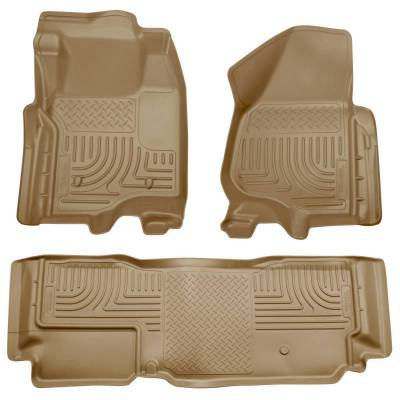 INTERIOR ACCESSORIES - FLOOR MATS - Husky Liners - Husky Liners Front and 2nd Seat Floor Liners 98723