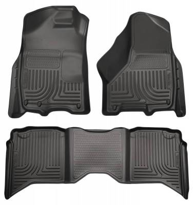 INTERIOR ACCESSORIES - FLOOR MATS - Husky Liners - Husky Liners Front and 2nd Seat Floor Liners 99001