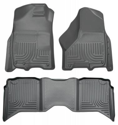 INTERIOR ACCESSORIES - FLOOR MATS - Husky Liners - Husky Liners Front and 2nd Seat Floor Liners 99002