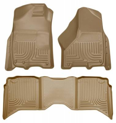 INTERIOR ACCESSORIES - FLOOR MATS - Husky Liners - Husky Liners Front and 2nd Seat Floor Liners 99003