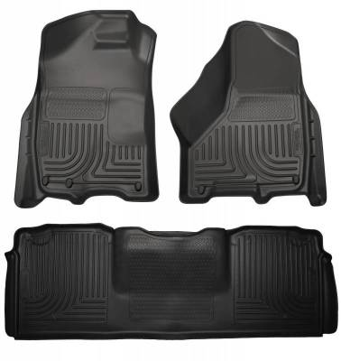 INTERIOR ACCESSORIES - FLOOR MATS - Husky Liners - Husky Liners Front and 2nd Seat Floor Liners 99041