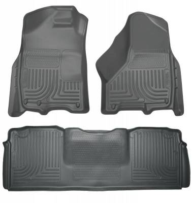 INTERIOR ACCESSORIES - FLOOR MATS - Husky Liners - Husky Liners Front and 2nd Seat Floor Liners 99042