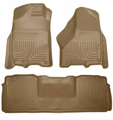 INTERIOR ACCESSORIES - FLOOR MATS - Husky Liners - Husky Liners Front and 2nd Seat Floor Liners 99043