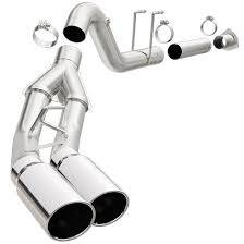 EXHAUST - EXHAUST KITS - MagnaFlow Exhaust Products - MagnaFlow Exhaust Products SYS CB 11-15 Ford F250/350 6.7L 5in. Du Pro 17862