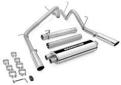 EXHAUST - EXHAUST KITS - MagnaFlow Exhaust Products - MagnaFlow Exhaust Products Sys C/B 03 Dodge Ram 2500 Hemi 5.7L 15791