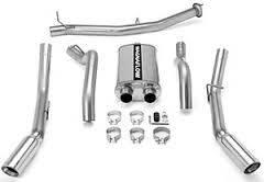 EXHAUST - EXHAUST KITS - MagnaFlow Exhaust Products - MagnaFlow Exhaust Products Sys C/B 07 GM 2500 HD 6.0L CC Duals 16790