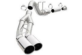 EXHAUST - EXHAUST KITS - MagnaFlow Exhaust Products - MagnaFlow Exhaust Products SYS CB 11-15 Ford F250/350 6.7L 5in. Du 15351
