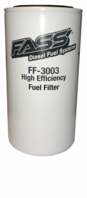 FASS Fuel Systems - FASS Platinum Fuel/Water 3 Micron with Bowl