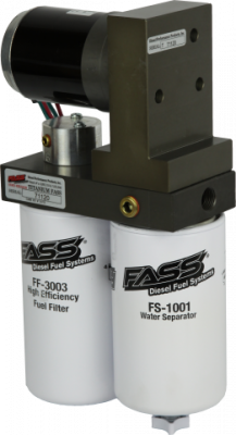 FASS Fuel Systems - FASS Titanium Series Diesel Fuel Lift Pump 95GPH Dodge Cummins 5.9L and 6.7L 2005-2016 W/ Free 6pk STANADYNE