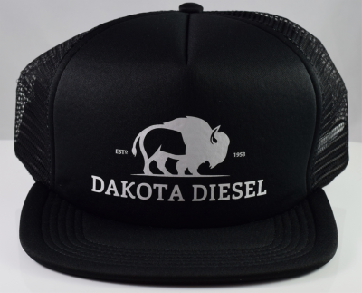 ACCESSORIES - Dakota Diesel Gear - Dakota Diesel Foam Snap Back (Black)