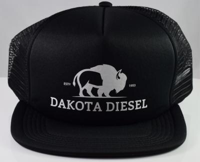 ACCESSORIES - Dakota Diesel Gear - Dakota Diesel Foam Snap Back (Black)