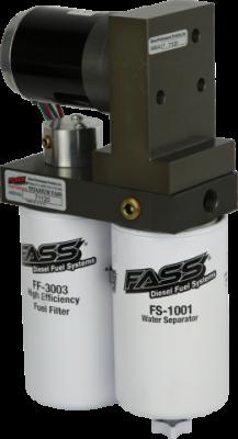 FUEL SYSTEM - LIFT PUMPS - FASS Fuel Systems - FASS Titanium Series Diesel Fuel Lift Pump 125GPH@45PSI Dodge Cummins 5.9L 1994-1998 W/ Free 6pk STANADYNE