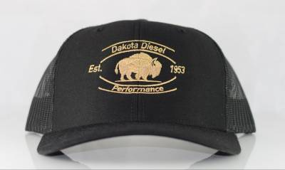 ACCESSORIES - Dakota Diesel Gear - Dakota Diesel Performance Hat black/gold