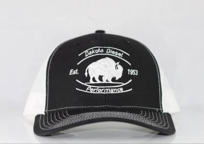 ACCESSORIES - Dakota Diesel Gear - Dakota Diesel Performance Hat black/white