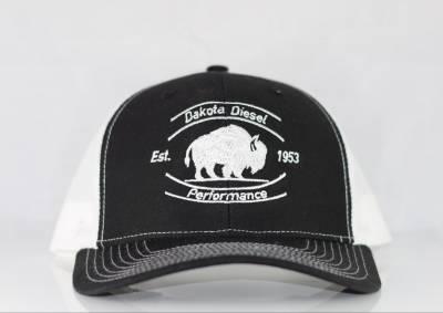 ACCESSORIES - Dakota Diesel Gear - Dakota Diesel Performance Hat black/white
