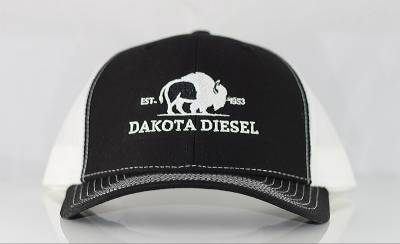 ACCESSORIES - Dakota Diesel Gear - Dakota Diesel Hat black/white
