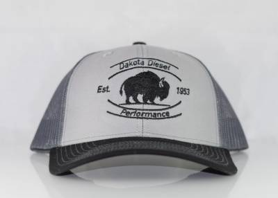 ACCESSORIES - Dakota Diesel Gear - Dakota Diesel Performance Hat grey/slate/black