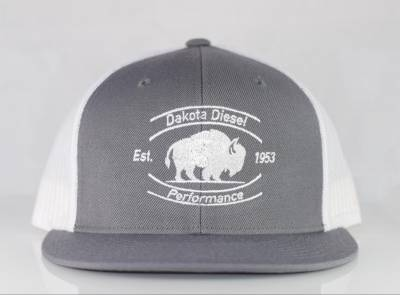 ACCESSORIES - Dakota Diesel Gear - Dakota Diesel Performance Hat grey/white