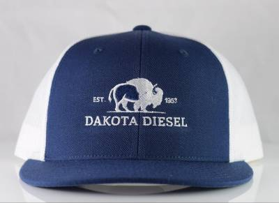 ACCESSORIES - Dakota Diesel Gear - Dakota Diesel Hat navy/white