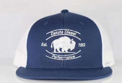 ACCESSORIES - Dakota Diesel Gear - Dakota Diesel Performance Hat navy/white