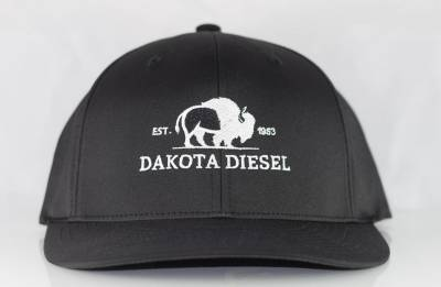 ACCESSORIES - Dakota Diesel Gear - Dakota Diesel Flex Fit Hat black/black