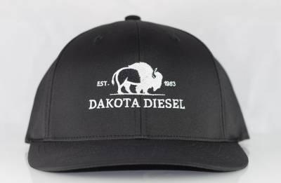 ACCESSORIES - Dakota Diesel Gear - Dakota Diesel Flex Fit Hat black/black